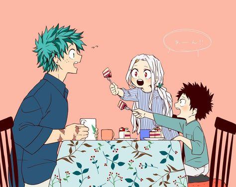 Tea Time with Eri and Kouta | My Hero Academia | Know Your Meme