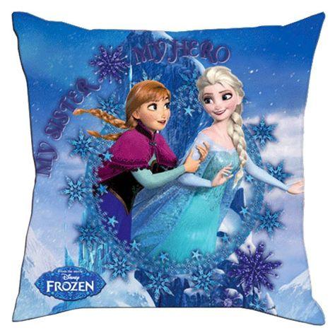 Frozen Kinderzimmer Kissen Frozen Dekokissen Kopfkissen