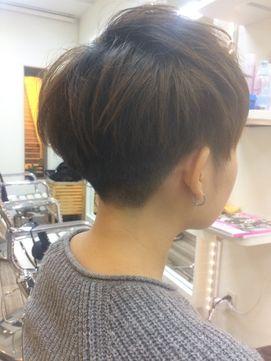 2019年冬 Micca下北沢 刈り上げツーブロック女子 Micca ミッカ のヘアスタイル Biglobeヘアスタイル ツーブロック 女子 マッシュショート 髪型 ヘアスタイル