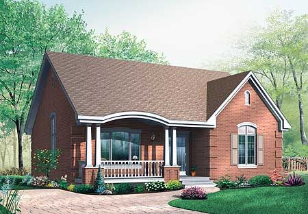 emejing small brick house plans contemporary - 3d house designs