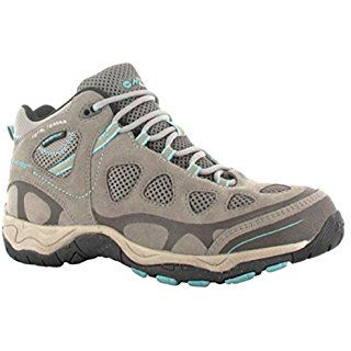 1b6b7745167 Hi-Tec Women's Total Terrain Mid Waterproof Trail Shoe,Hot Grey ...