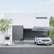 Lixilが次世代カーポート発表 アルミ材のシンプル構造で住宅にマッチ 施工性や質感を向上 2枚目の写真 画像 住宅 間取り カーポート 家 外構