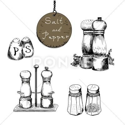 28++ Salt pepper shakers clipart info