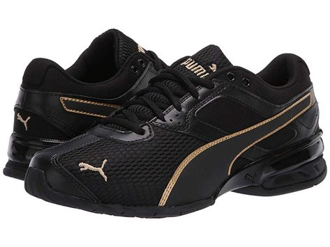 PUMA Tazon 6 Shimmer Women's Shoes Puma BlackPuma Team Gold