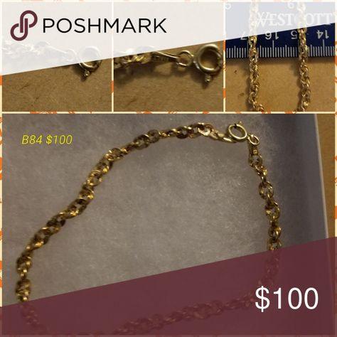 Gold Bracelet Anklet Gold Bracelet Anklets Gold