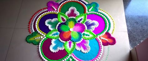 6 Easy Rangoli Designs To Brighten Up Your House This Diwali!
