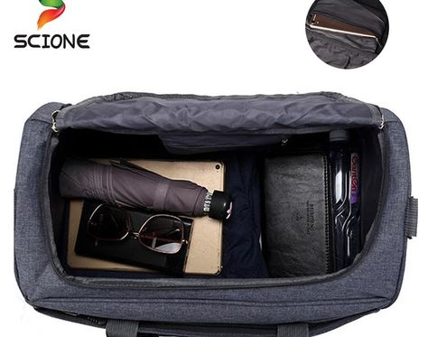 5e286092429c Cheapest Waterproof Nylon Sports Training Gym Bag Men Women Fitness Bags  Multifunction Travel Yoga Handbag Outdoor Sporting Tote For Male