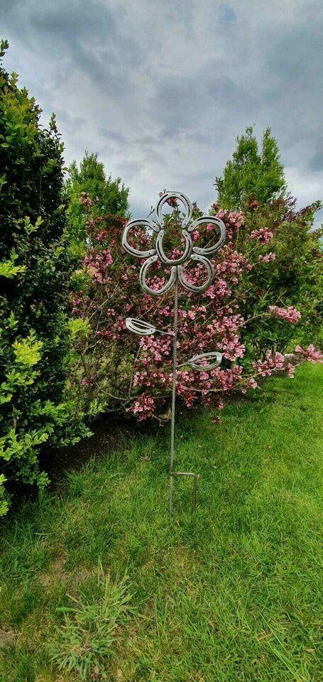 Blume Aus Hufeisen Garten Deko In Niedersachsen Stadland Ebay Kleinanzeigen Garten Deko Garten Blumen