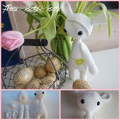 Amigurumi Hase Mit Kapuze Freebie Amigurumi Crochet Pattern Free