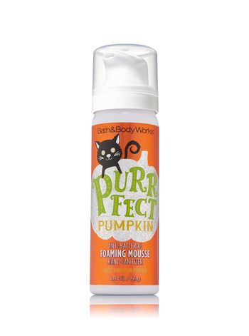 Sweet Cinnamon Pumpkin Foaming Hand Sanitizer Bath And Body