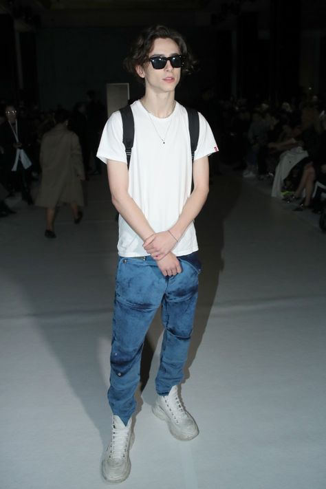 Timmy at the Haider Ackermann Show for Fashion Week. Look how cute he is!Timmy at the Haider Ackermann Show for Fashion Week. Look how cute he is! Haider Ackermann, Beautiful Boys, Pretty Boys, Timmy T, Healthy Style, Skater Boys, My Little Baby, White T, Hollywood Celebrities
