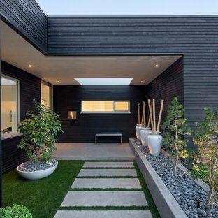 Modern Garden House Modern Landscaping Modern Front Yard