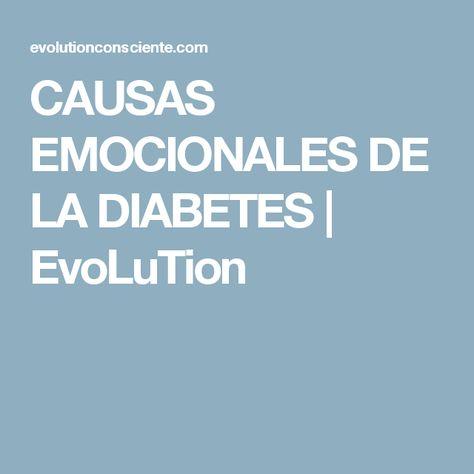 que es la diabetes emocionalmente