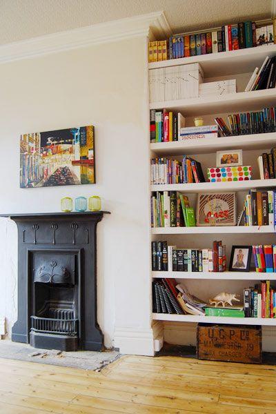 Edwardian Fireplace | www.littlehouseonthecorner.com