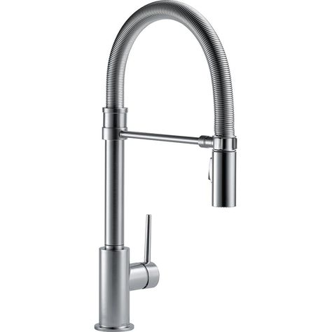 Delta Trinsic Pro Single Handle Pull Down Sprayer Kitchen Faucet