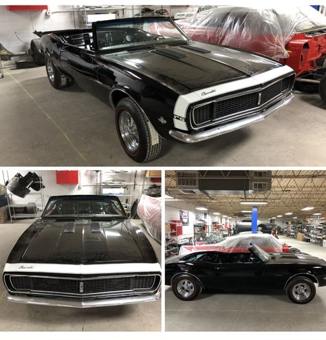 New project! 1967 RS SS Camaro convertible  Now that's a