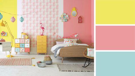 Quelles couleurs pour une chambre d'ado fille ?