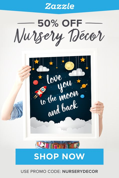 50% Off Nursery Decor - Zazzle