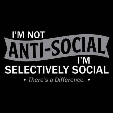 i'm selectively social - Imgur