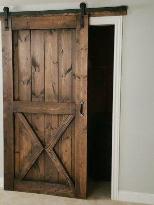 Barn Door Sliding 1 Panel Z Style Walston Door Company Garage In 2020 Wood Doors Interior Interior Barn Doors Diy Sliding Barn Door