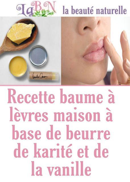 Recette Baume A Levres Maison A Base De Beurre De Karite Et De La