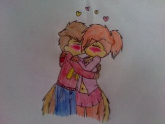 Alvin And Brittany Kiss By Emogirl003 Artist Alvin And The