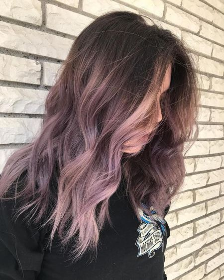 Faded Hair Color, Ombre Hair Color, Pastel Ombre Hair, Ombre Hair Lavender, Lavender Highlights, Purple Hair Highlights, Dyed Hair Ombre, Ombre Style, Lavender Hair Tips