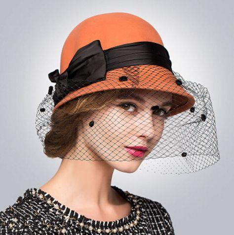 Perle coloré fashion hat Berret Déguisement Diva Disco prop cap