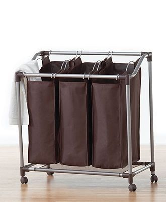 Hampers Deluxe Everfresh Laundry Triple Sorter With Images