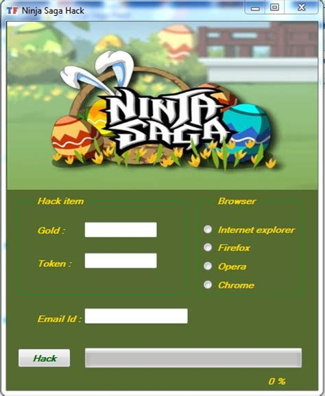 Ninja Saga Hack Online - How to get Unlimited Free Gold and