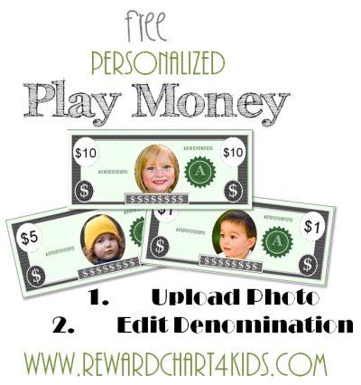FREE Printable Play Money Free printable, Plays and Homeschool - play money template