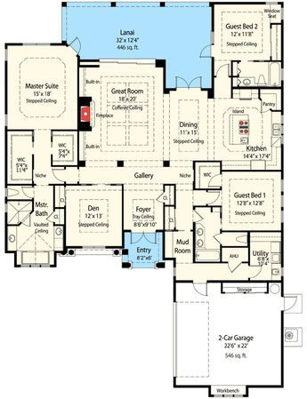 Plan 33062zr Energy Smart Single Story House Plan Smart House Plans House Plans Story House