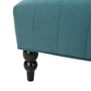 Prime Noble House Toddman Dark Teal Fabric High Back Accent Chair Machost Co Dining Chair Design Ideas Machostcouk