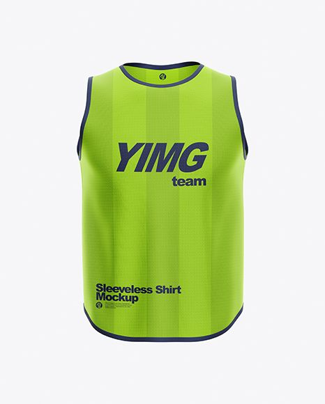 Download Sleeveless Shirt Mockup In Apparel Mockups On Yellow Images Object Mockups Shirt Mockup Clothing Mockup Design Mockup Free