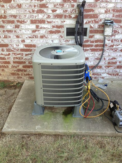 Elevate Your Heat Pump To Prevent Ice Accumulation During The Defrost Mode Heat Pump Elevation Stan Heat Pump Installation Air Heat Pump Cooling Installation