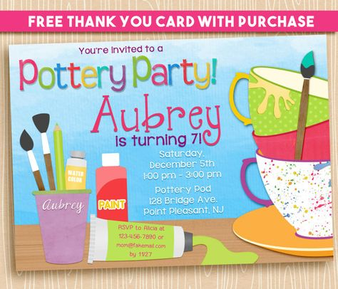 It's just a picture of Free Printable Paint Party Invitations intended for garden party