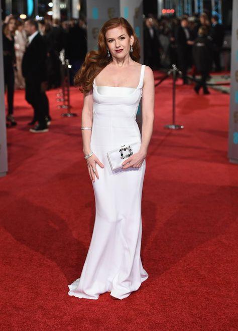 Pin for Later: Glamour Était le Mot Clé Lors des BAFTA Awards Isla Fisher