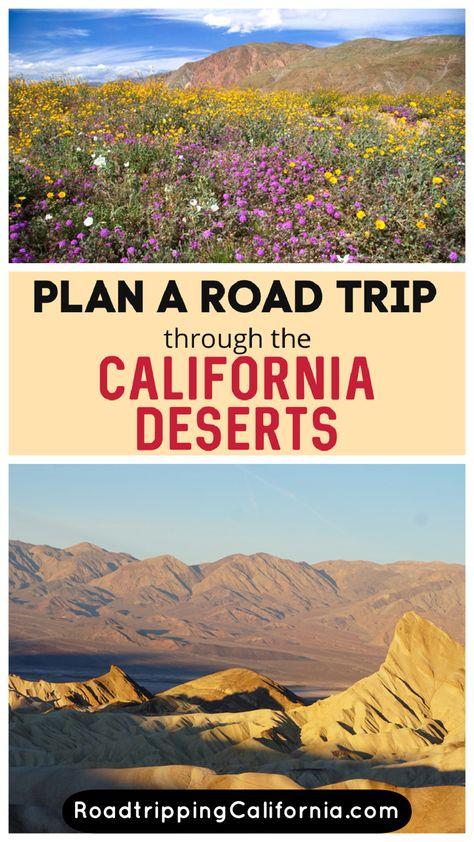 California Desert Road Trip Itinerary