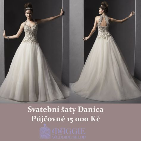 Svatební šaty Danica, salon Maggie  www.1-svatebni-saty.cz #svatebnisaty #svatba #svatby #svatebnisalon #svatebnistudio #saty #MaggieSottero #nevesta #satypronevestu#moda#svatebnimoda