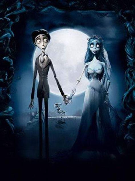 Corpse Bride Til Death Do Us Part Warner Brothers Giclee on Paper Limited Ed of 250