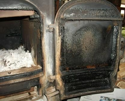 How To Clean The Glass Door Of A Wood Stove Wood Stoves