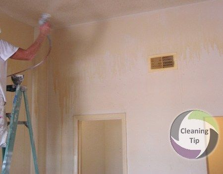 How to Remove Cigarette Tar and Nicotine from Walls