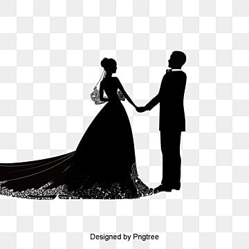 Creative Wedding Silhouette Bride Clipart Bride And Groom Wedding Png Transparent Clipart Image And Psd File For Free Download In 2021 Wedding Silhouette Bride And Groom Silhouette Bride Clipart