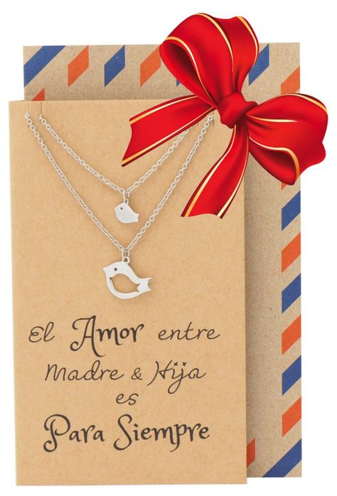 Mina Mother Daughter Necklace Gifts For Mom Bird Necklace Set For 2