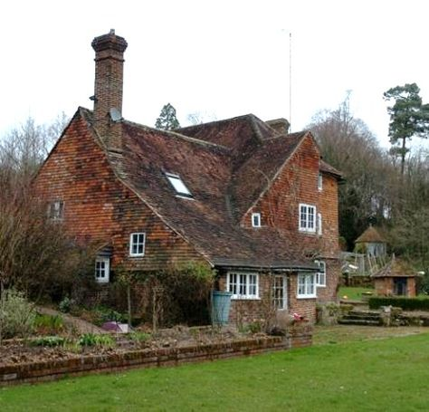 "The A. A. Milne house in East Sussex, England - the House at Pooh Corner. The Home of one of my Favorite Authors and the Place, where one of my Music Idols Drowned "" Brian Jones of The Stones"""