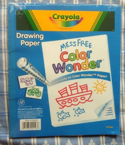 Crayola Giant Marker And Watercolor Pad Paint Pens Colored