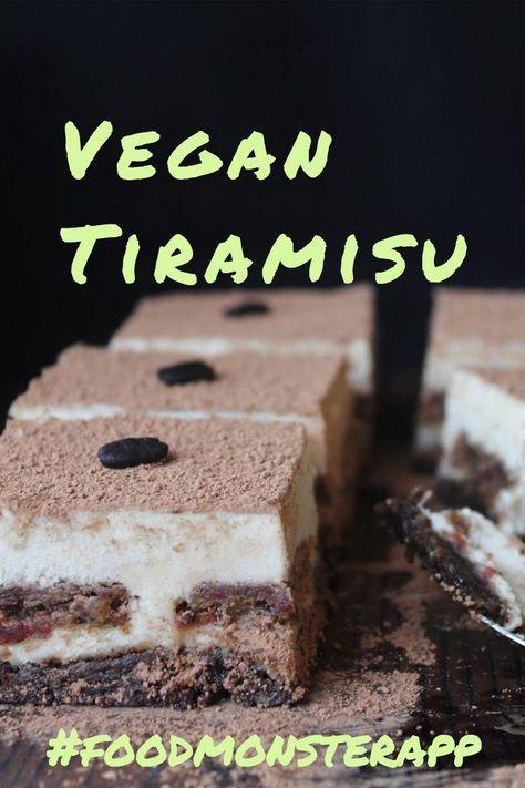 Decadent Raw Tiramisu With Coffee Ladyfingers Vegan Gluten