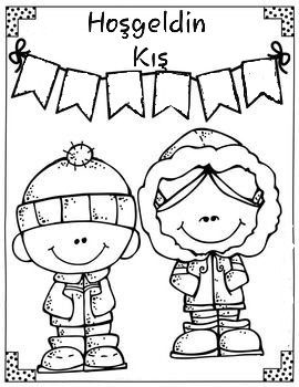 Pin By Yesim On Dekor Winter Fun Coloring Pages Christmas Coloring Pages