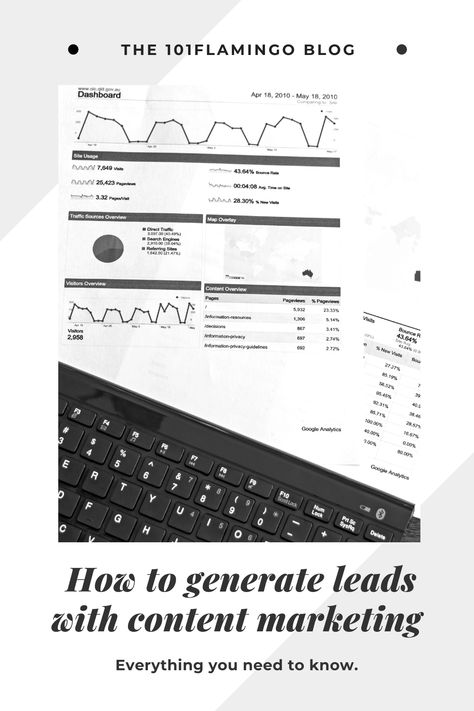 How To Generate Leads With Content Marketing | 101Flamingo