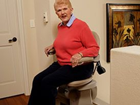 Elite Curved Stair Lift Made In Usa Bruno In 2020 Stair Lift Stair Lifts Chair Lift